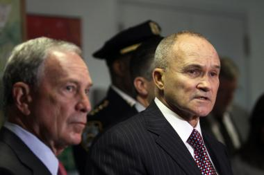 NYPD commissioner Ray Kelly, seen here with Mayor Michael Bloomberg, said he's no longer confident police will find Avonte Oquendo alive.