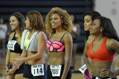 The Brooklynettes tryouts finalist begin a training camp this week to see who makes the final cut.