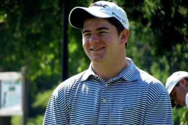 Two-time CHSAA state champion Cameron Young set a league record for lowest nine-hole score.