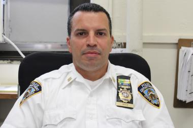 Capt. Steven Ortiz took over the Bronx's 42nd Precinct in May 2013.