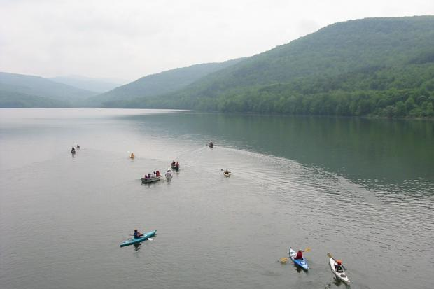NYC-based HarborLAB is launching a program in September taking kids paddling on a Catskills reservoir.