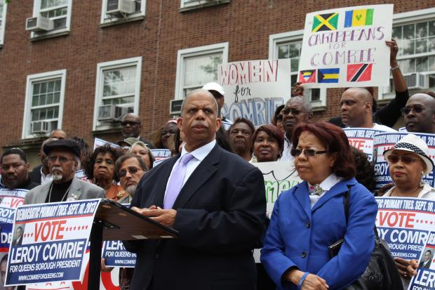 Queens Councilman promises to focus on housing and education.