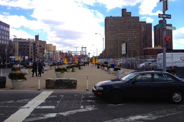 The Lower East Side Business Improvement District's offer two hours free parking in a lot with 300 plus car spaces.