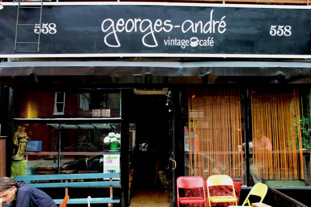 "A new ""vintage cafe"" in Bedford-Stuyvesant started by a one-named French expat offers customers the opportunity to buy vintage furniture along with their drinks and pastries."