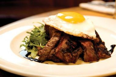 Korean-style steak and eggs at The Good Fork. The owners of the Red Hook restaurant are opening a Korean barbecue and karaoke joint in Gowanus.