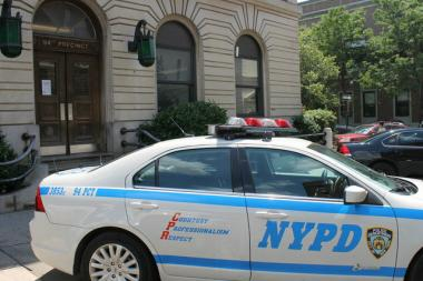 "A woman was reportedly raped in the 94th Precinct this weekend for being ""gay,"" the attacker told her."