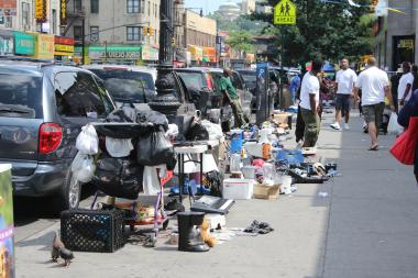 The 34th Precinct is going to focus on unlicensed street vendors that block sidewalks while selling goods.