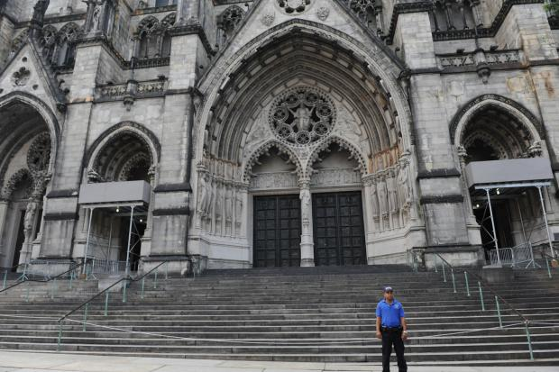 The Cathedral of St. John the Divine earned given landmark status on Tuesday.