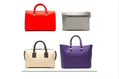 A selection of Victoria Beckham designer bags available at Kirna Zabete stores. Several Victoria Beckham bags were stolen at Kirna Zabette's 96 Greene St. location.