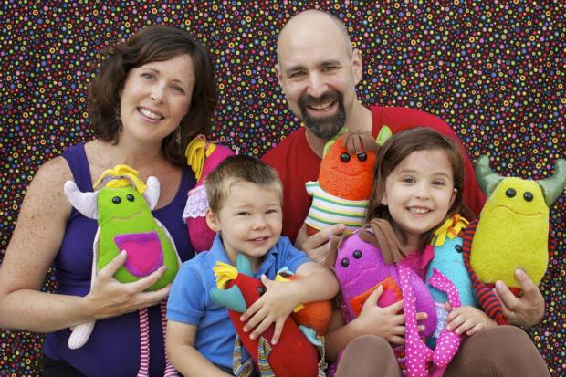 The Black family runs Lyla Tov Monsters, selling handmade monster dolls designed by 6-year-old Lyla.