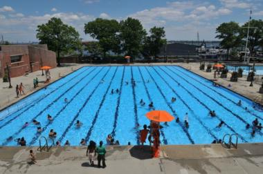 Lyons Pool on Staten Island.