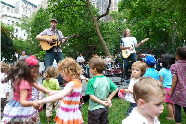 Madison Square Park Conservancy released this year's line-up for its annual Kids Concert series.