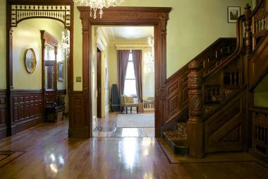 An example of a home on the Mount Morris Park House Tour.