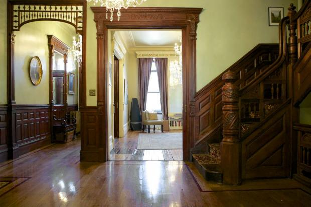 Beautifully renovated brownstones from the 1800s will be on display for Mount Morris Park's 24th annual house tour this Sunday but another type of home will also be showcased— a funeral home.