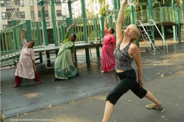 Uptown fitness guru Nancy Bruning will be hosting a series of activities at Fort Tryon Park on June 9.