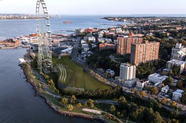The New York Wheel will be the world's largest Ferris wheel when it's built on Staten Island.