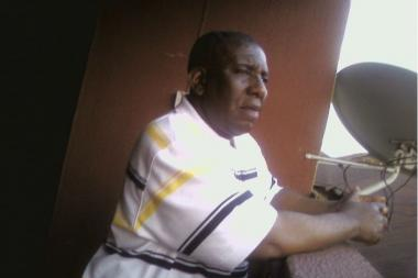 Orji-Ama Uro, 54, was stabbed in the eye with an umbrella by a passenger after a fight inside his cab, June 13, 2013.
