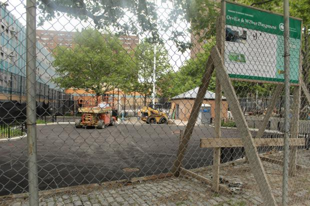 The Orville and Wilbur Playground has been closed almost two years.
