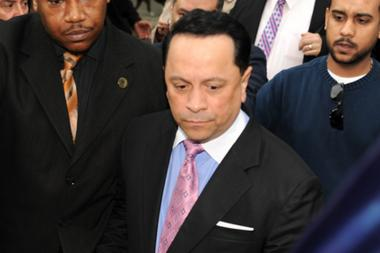 Pedro Espada Jr. was sentenced in Brooklyn Federal Court on Friday, June 14, 2013, to five years in prison for tax evasion and stealing funds from a Bronx nonprofit.