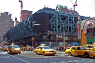 The Port Authority Bus Terminal is located on Eighth Avenue between 40th and 41st streets.