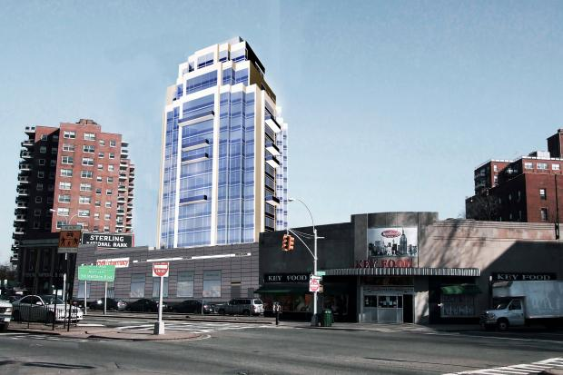 New Forest Hills building will have 100 apartments.