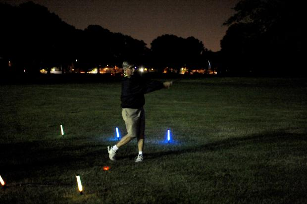 Dyker Beach Golf Course is the home for the first of its kind night golfing experience every Thursday.