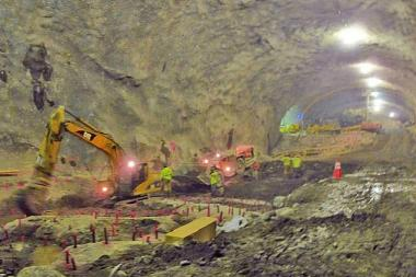Much of the Second Avenue Subway excavation involves mining to make way for tunnels.