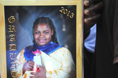 The calm of a warm spring night in Bed-Stuy was shattered when a 17-year-old gunman out hunting a rival gang member missed his mark and struck 11-year-old Tayloni Mazyck.