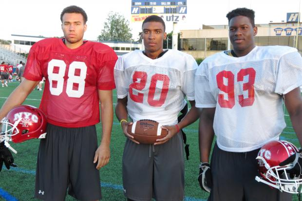 UConn-bound Jordan Fuchs, Cameron Stapleton and Folorunso Fatukasi will compete in the Empire Challenge.