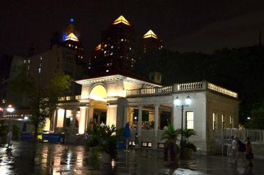 A restaurant legally can open in Union Square Park Pavillion, a judge ruled June 18, 2013.