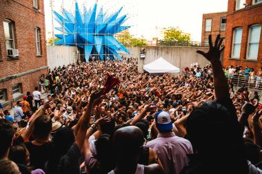 Party-goers will pack the courtyard at MoMA PS1 on Saturday for the kickoff of its annual Warm Up summer concert series.