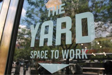 A new coworking office offers alternative to working from home or coffee shops.