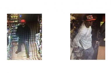 Police say these men are involved in the June 17, 2013 robbery of a Yorkville bodega.
