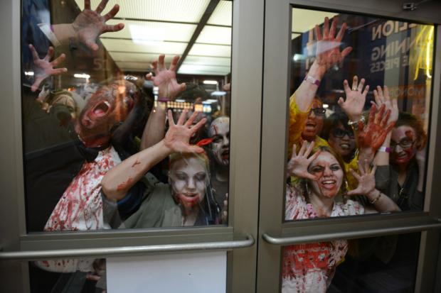 "In the lead-up to the release of ""World War Z"" DNAinfo New York looks at how zombie events in the city."