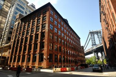 30 Washington St. in DUMBO, where the asking rent is $4,200 per month.