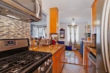 Househunters were drawn to the newly renovated kitchen in this one-bedroom co-op in Ditmas Park.
