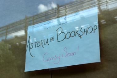 The Astoria Bookshop will debut in August, and will joined by sci-fi and fantasty bookshop Enigma.
