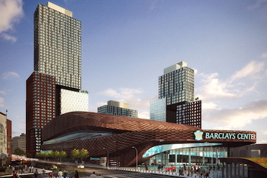 Atlantic Yards is a 22-acre project in Brooklyn.