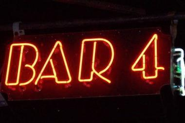 After 14 years in business, Bar 4 is closing on Aug. 15.