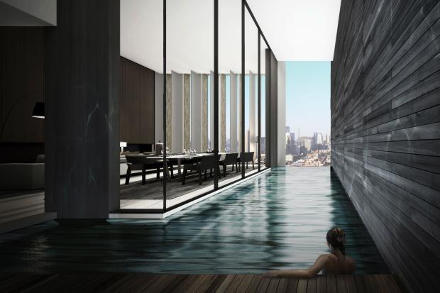 Ultra Luxe Apartments With Private Pools Coming To West