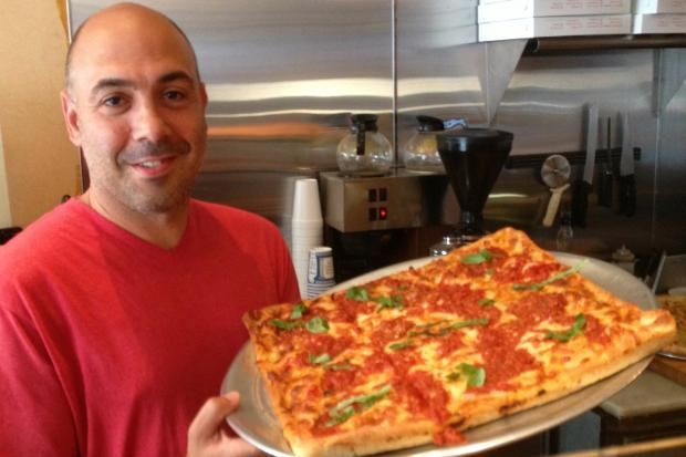 Carmine Gangone is opening a sports bar next to Carmine's Pizzeria.