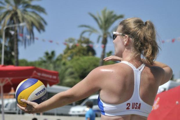 West Harlem resident Charity Sanders is just $1,200 away from raising enough money to represent the U.S. in beach volleyball at the 2013 Deaflympics in Sofia, Bulgaria starting July 26.