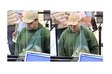 Police are looking for this man who allegedly tried — and failed — to rob a Chelsea Bank of America.