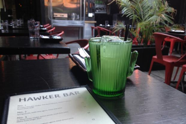 After rising from the ashes of Sunburnt Calf BK this spring, Hawker Bar serves drinks in liquor limbo.