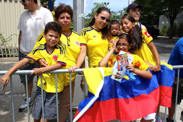 The annual Colombian Independence Day Parade marched down Northern Boulevard in Jackson Heights on Sunday.