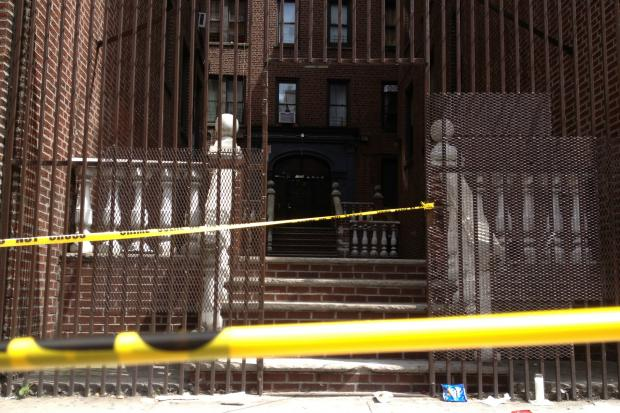 A woman was found inside a trash barrel at an apartment at Walton Ave. in the Bronx.