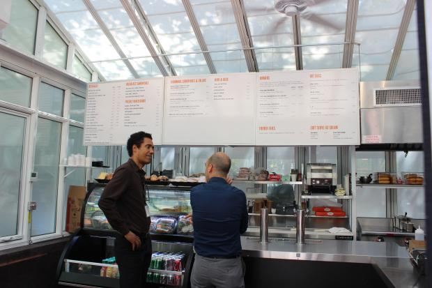Dag's Patio Cafe has opened in the concession stand at Dag Hammarskjold Plaza, near the UN.