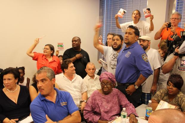 The board voted by a wide margin on July 10, 2013 to back a lease modification the company needs to move to The Bronx.