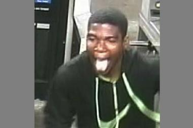 Cops are looking for a suspect who swiped an iPhone 4s out of a woman's hands as she stood waiting for a train at the Franklin Avenue and Eastern Parkway subway stop on June 11.