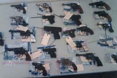 Police officers will be giving out $200 prepaid cards in exchange for operable handguns surrendered at Saturday's Harlem gun buyback.